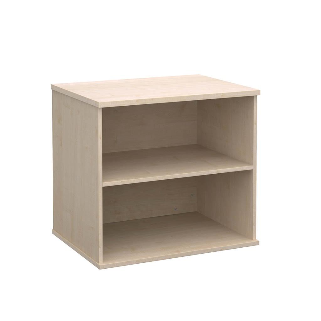 Economy Value Desk High Bookcase Maple